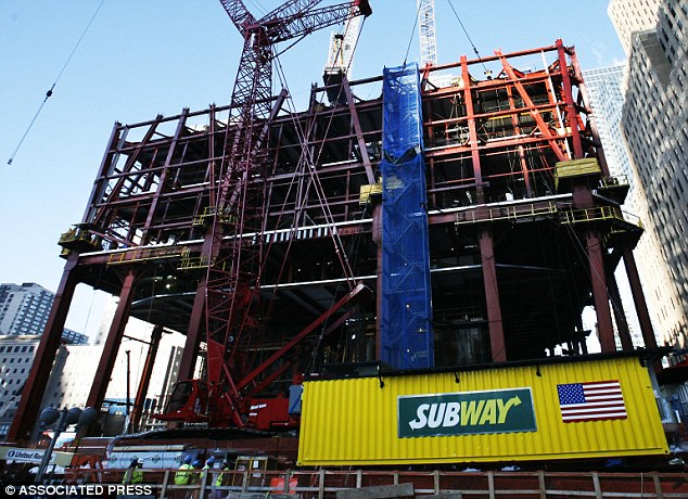 Restaurante Subway en el nuevo World Trade Center